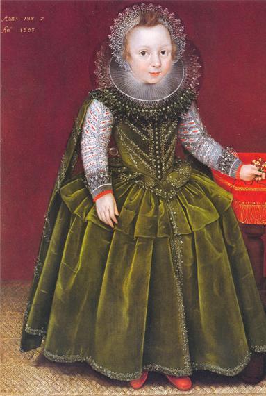 Мальчики в платьях 18 век