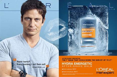 Рекламный плакат L'Oreal Paris Men Expert
