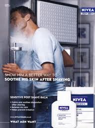 Рекламный плакат Nivea