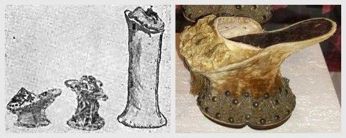 Обувь эпохи Возрождения (пантофли).