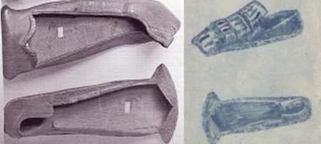 Обувь эпохи Возрождения (коровьи губы).