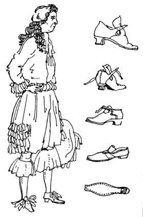 Мужской придворный костюм, 1665 г.