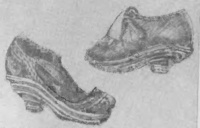 Обувь на наборной подошве, 17 в.