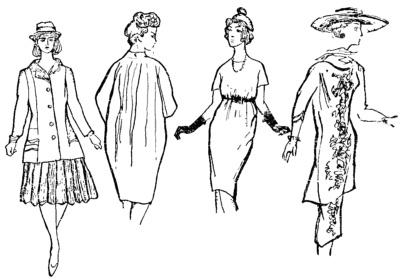 Форма и силуэт в костюме
