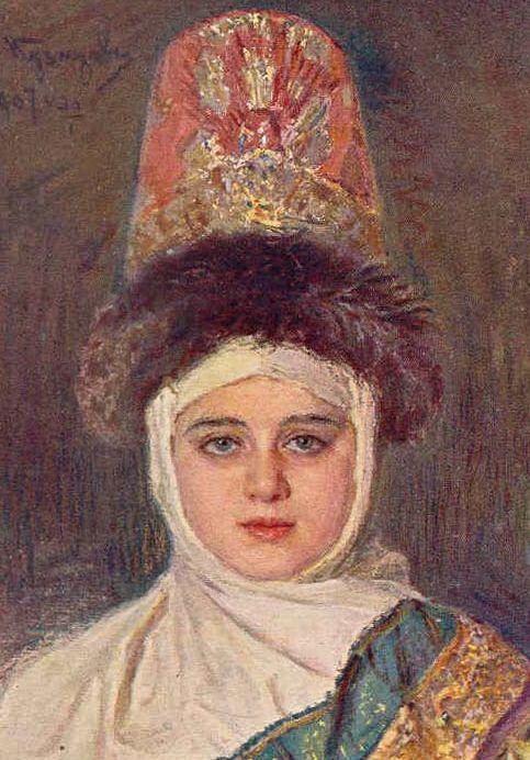 Судаков Г. В. Старинная женская одежда и ее наименования.