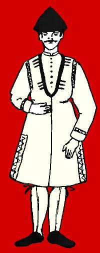 картлийская крестьянская чоха