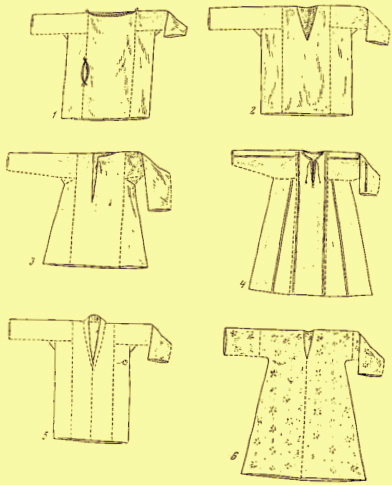 Крой национальной одежды