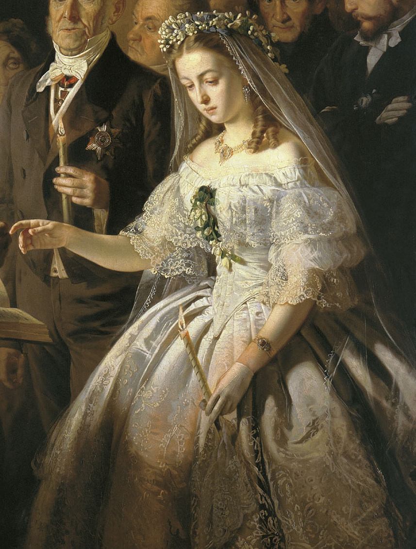 Платье 15 века франция
