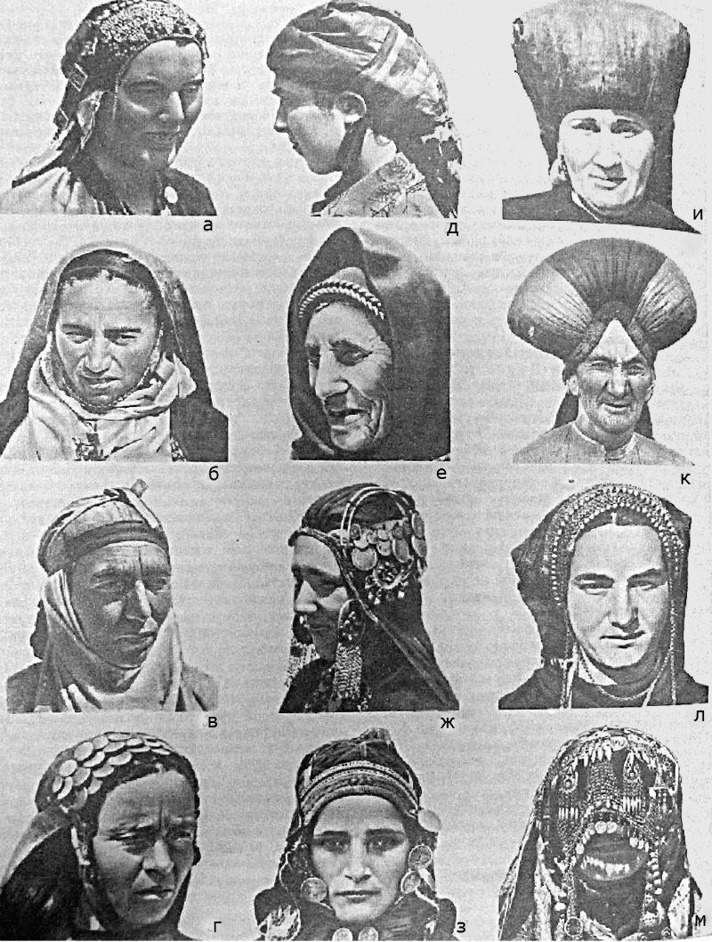 Национальный костюм Дагестана (31 фото женские и мужские)