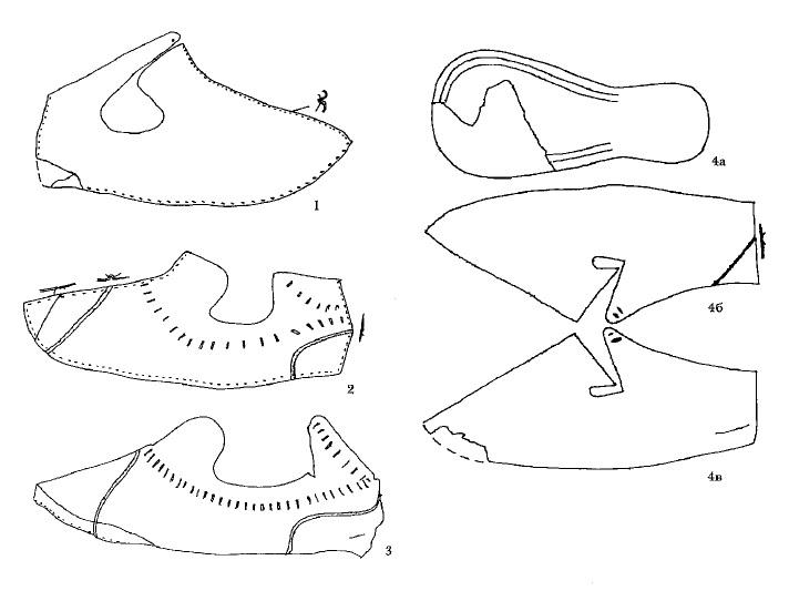 Туфли из раскопок в ЦВЗ «